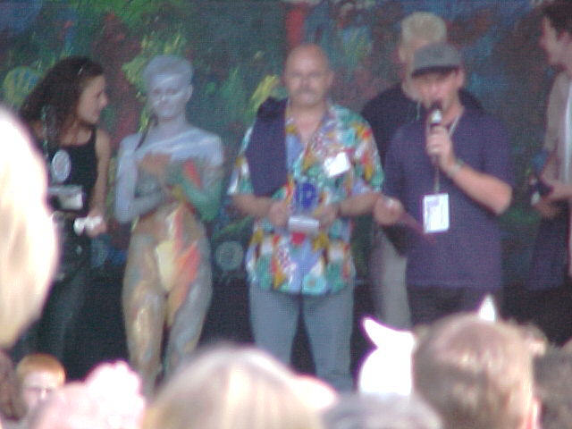 European Bodypainting Festival Stage, 30/07/2000, 17:47