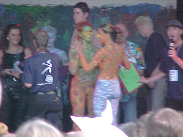 European Bodypainting Festival Stage, 30/07/2000, 17:48