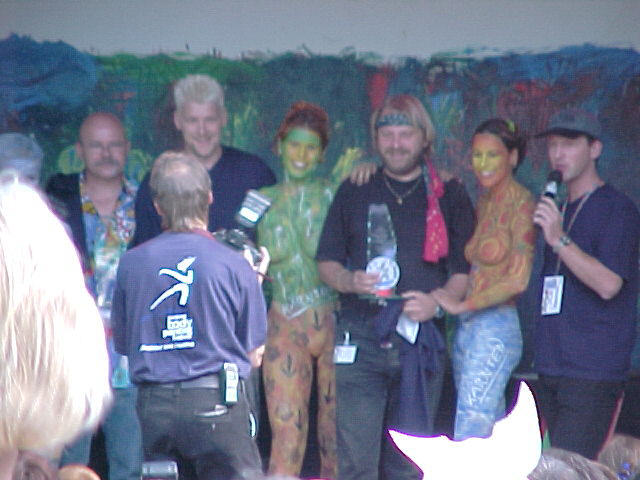 European Bodypainting Festival Stage, 30/07/2000, 17:49