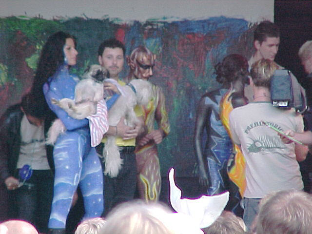 European Bodypainting Festival Stage, 30/07/2000, 17:51