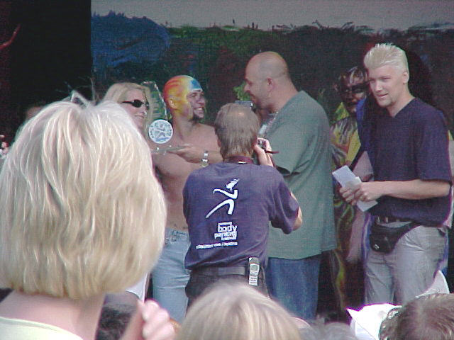 European Bodypainting Festival Stage, 30/07/2000, 17:52