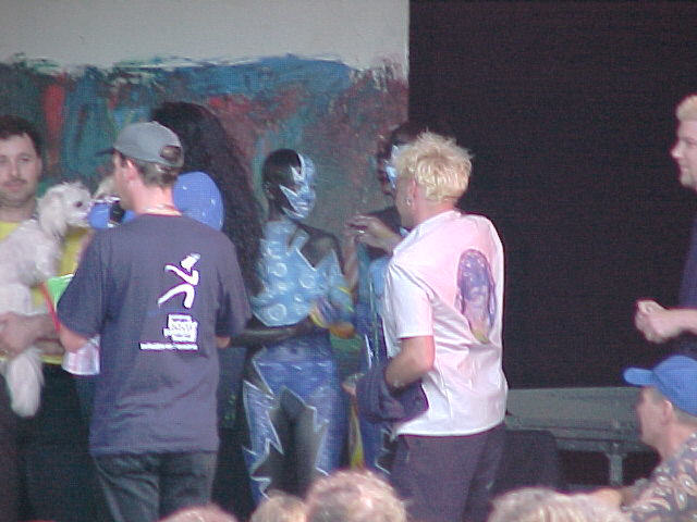 European Bodypainting Festival Stage, 30/07/2000, 17:53